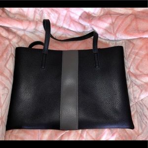 Vince Camuto large vegan leather tote